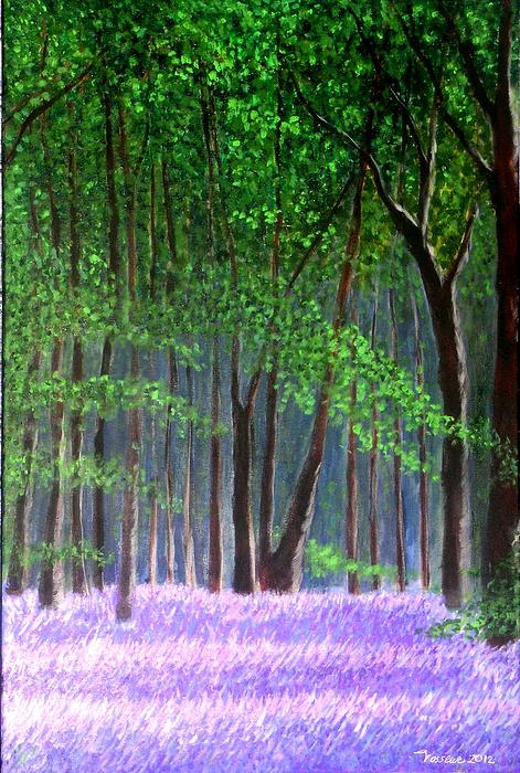 Marie-Line Vasseur - Bluebells forest