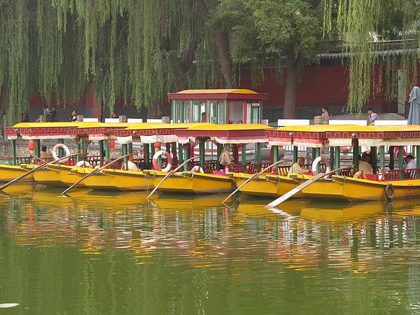 Alfred Ng - boats at Baihai Park