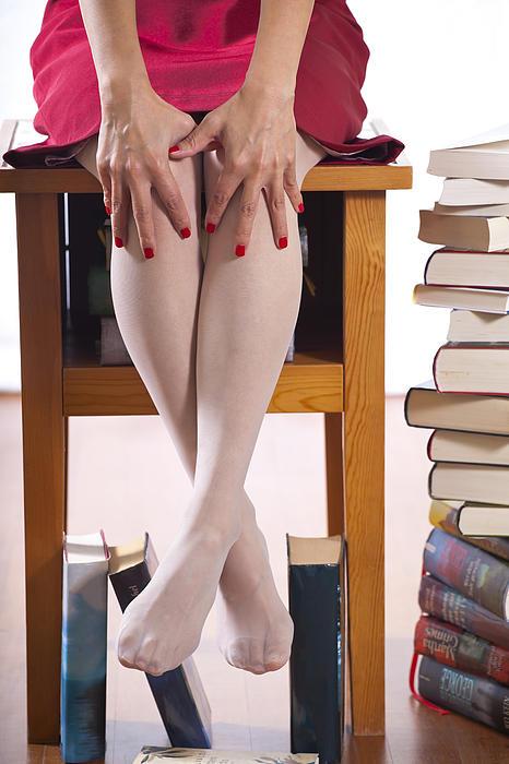 Books Print by Joana Kruse