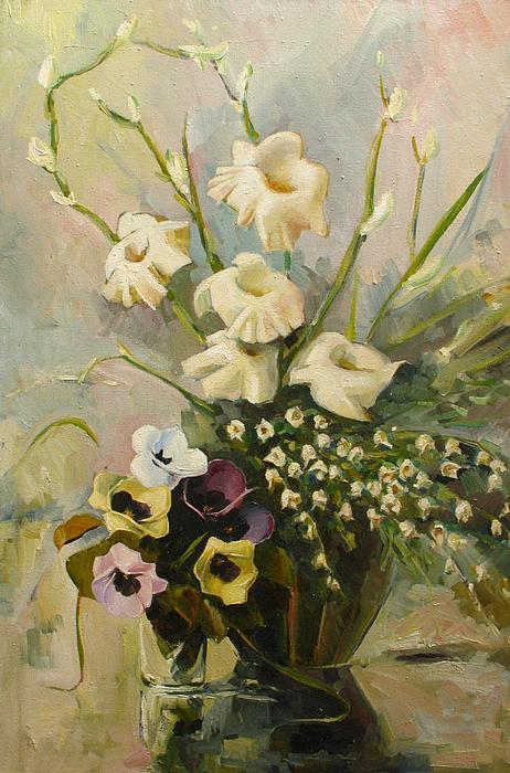 Bouquet Print by Tigran Ghulyan