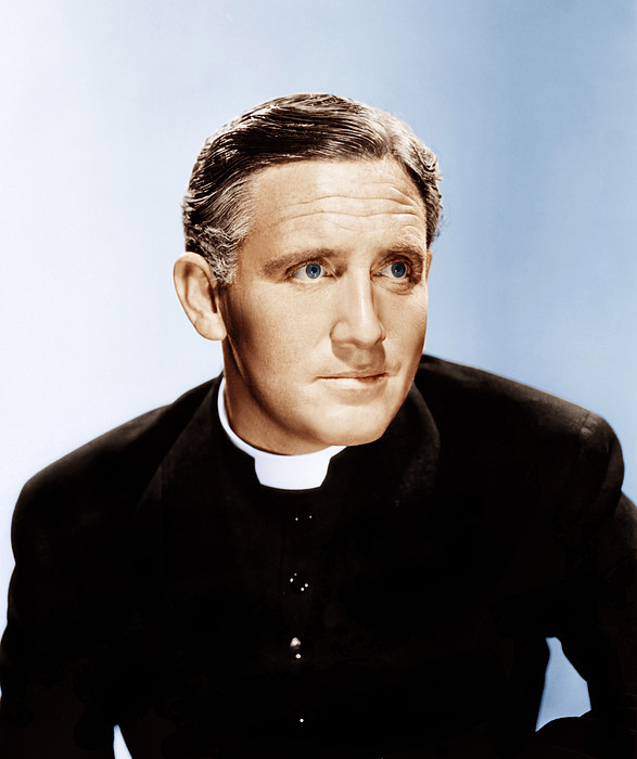 Boys Town, Spencer Tracy, 1938 Print by Everett