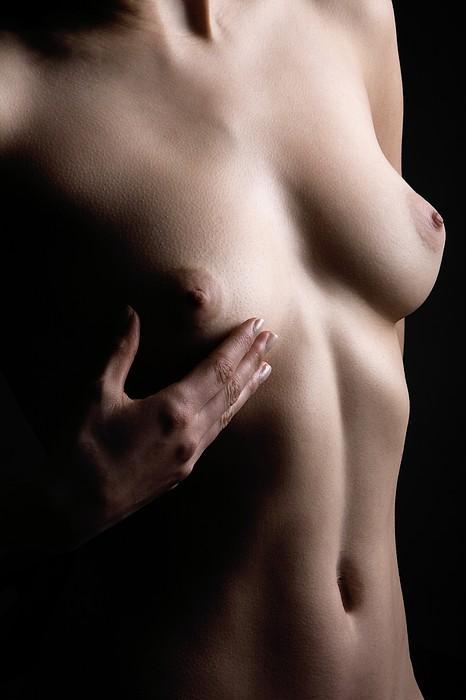 Breast Self-examination Print by Mauro Fermariello