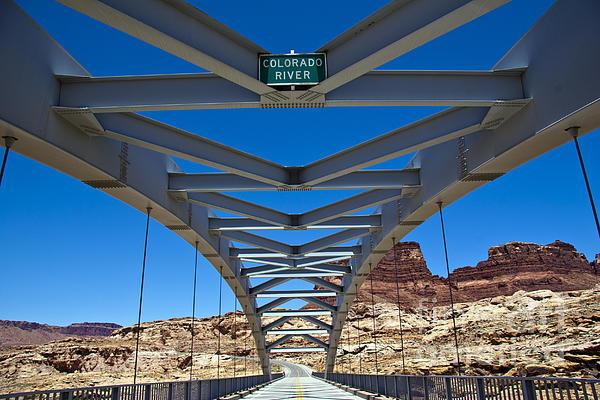 Bridge Across Colorado Print by Scotts Scapes