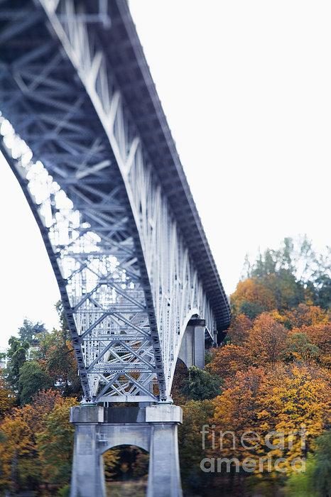 Bridge Footing And Anchor Point Print by Don Mason