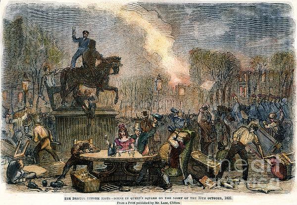 Bristol: Reform Riot, 1831 Print by Granger