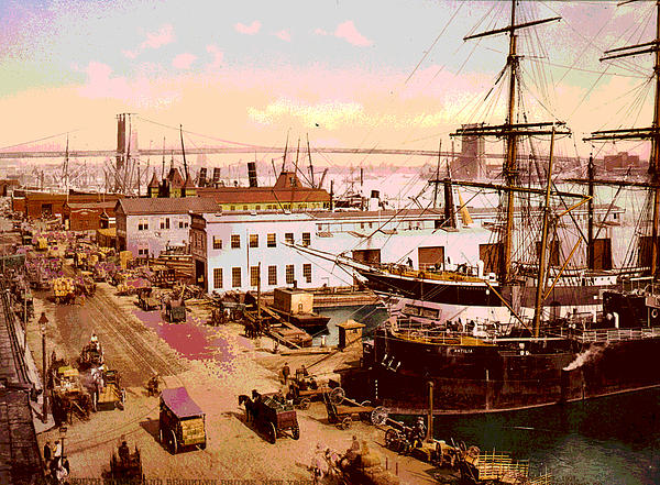 Brooklyn Bridge  Print by Charles  shoup
