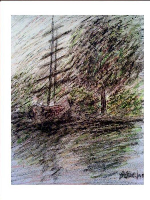 By The Lake Print by Aida Behani