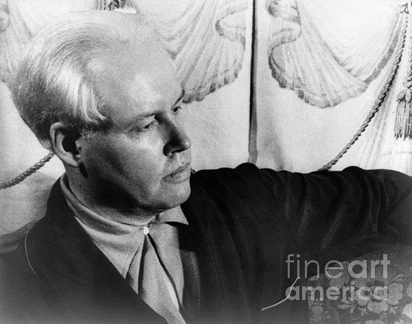 Carl Van Vechten (1880-1964) Print by Granger