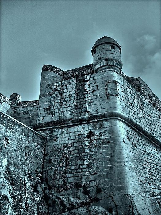 Castle Of Peniscola - Spain Print by Juergen Weiss