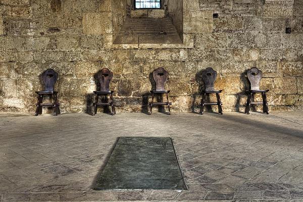 Chairs Print by Joana Kruse