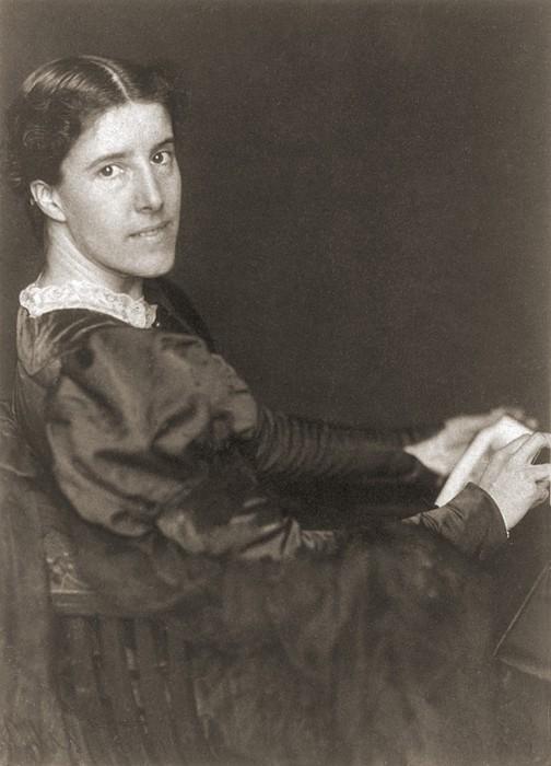 Charlote Perkins Gilman 1860-1935 Print by Everett