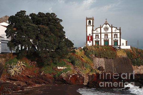 Church By The Sea Print by Gaspar Avila