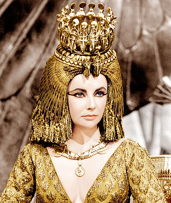 Cleopatra, Elizabeth Taylor, 1963 Print by Everett