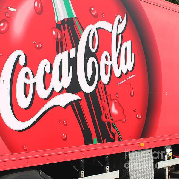 Coca Cola Truck Print by Barbara Marcus