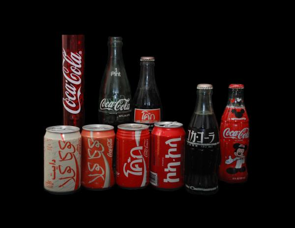 Coke From Around The World Print by Rob Hans