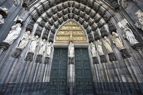 Cologne Germany  The Cathedral Print by Nicole Riley