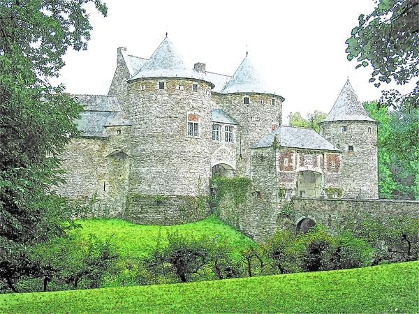 Corroy Le Chateau  Gembloux Belgium Print by Joseph Hendrix