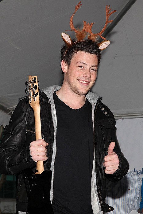 Cory Monteith At In-store Appearance Print by Everett