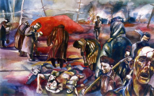 Karl Frey - Crucifiction