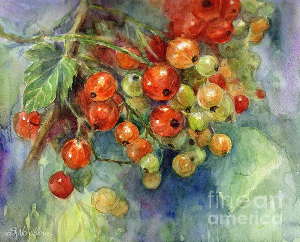 Svetlana Novikova - Currants berries painting