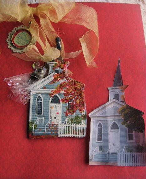 Sandra Oropeza - Custom House Ornaments