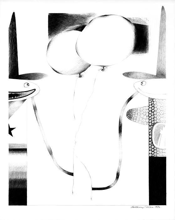 Cycloptic Couple Print by Tony Paine