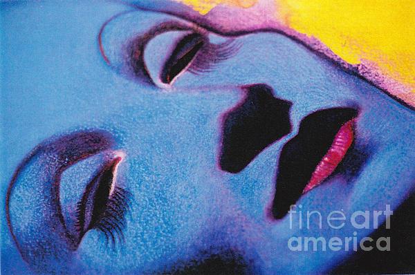 Leslie Bell - Detail of Marlene Dietrich