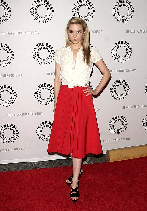 Dianna Agron At Arrivals For Glee Print by Everett