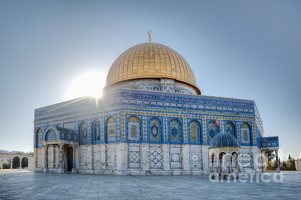 Dome Of The Rock Print by Noam Armonn