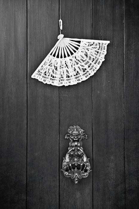 Door Knocker Print by Joana Kruse