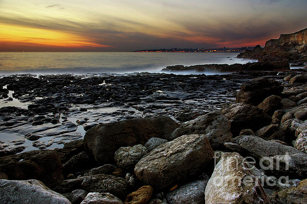 Dramatic Coastline Print by Carlos Caetano