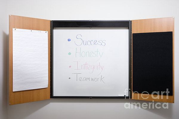 Dry Erase Board Print by Andersen Ross