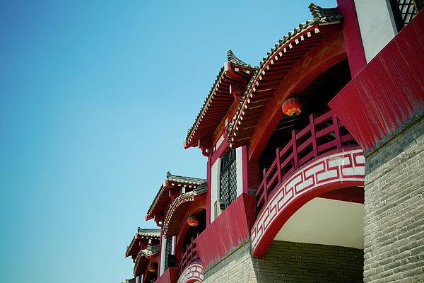 Epang Palace Print by Pan Hong