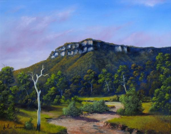 Escarpment Road Painting 