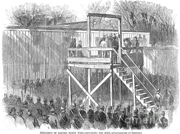 Execution Of Henry Wirz Print by Granger