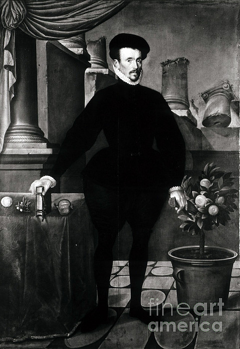 Felix Plater, Swiss Physician Print by Science Source