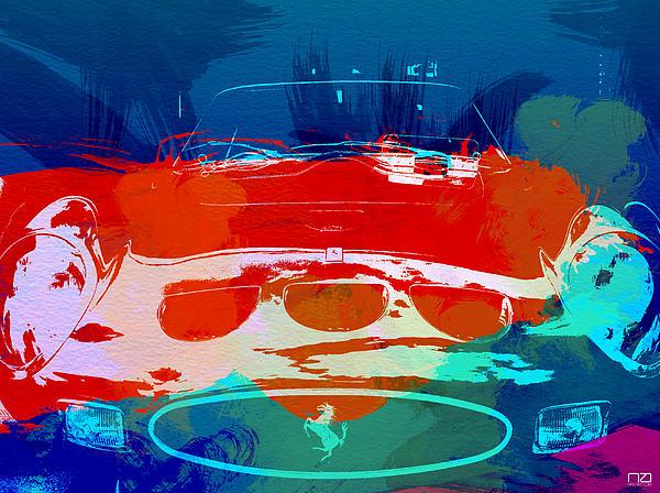 Ferrari Gto Print by Naxart Studio