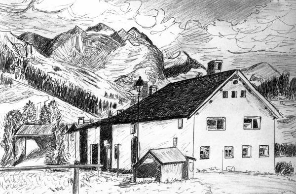 Fextal Switzerland Print by Monica Engeler