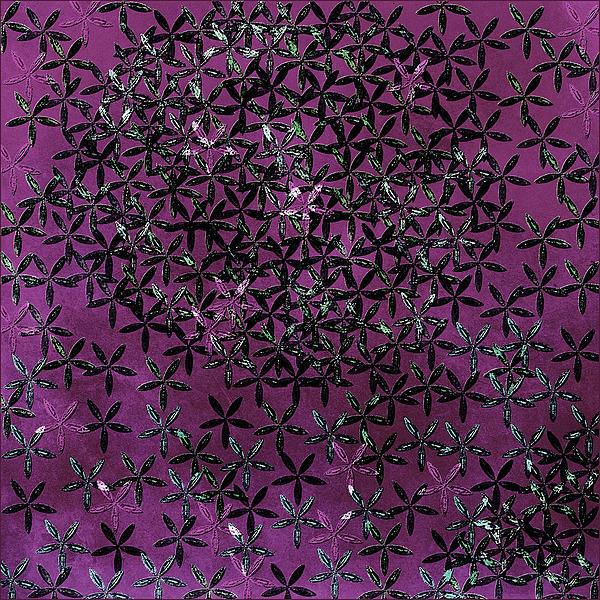 Flower Shower Print by Bonnie Bruno