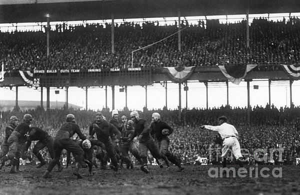 Football Game, 1925 Print by Granger