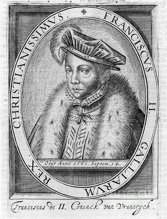 Francis II (1544-1560) Print by Granger