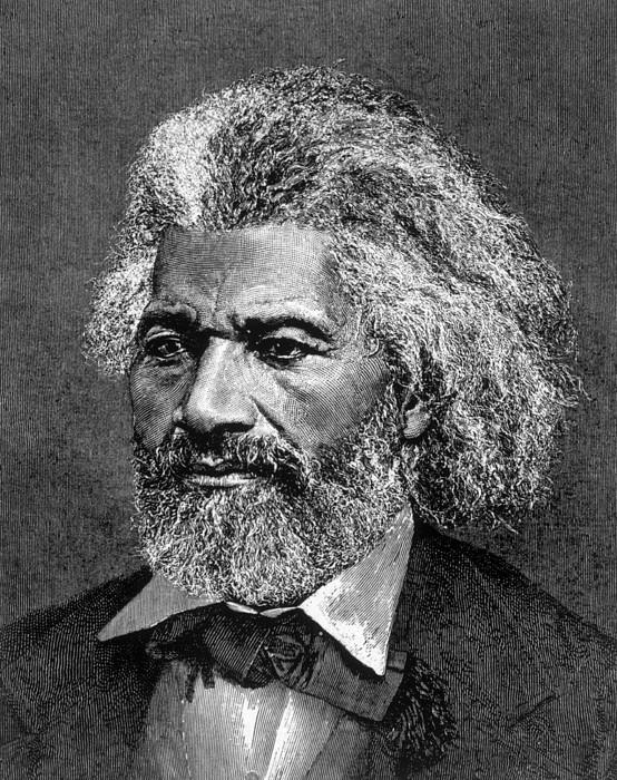 Frederick Douglass Ca. 1817-1895 Print by Everett