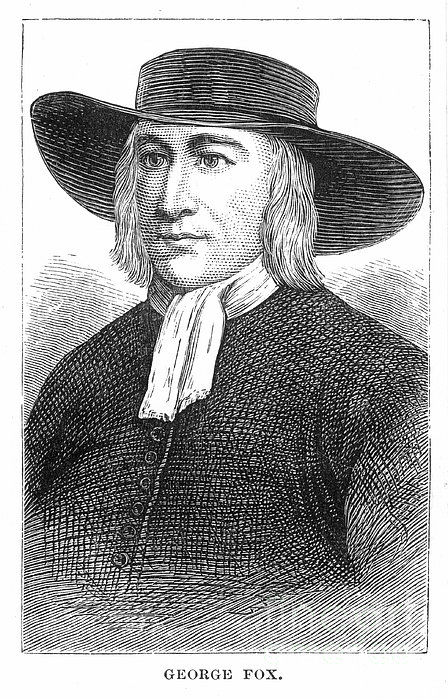 George Fox (1624-1691) Print by Granger