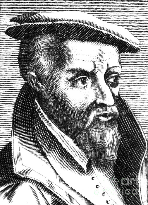 Georgius Agricola, German Scholar Print by Science Source