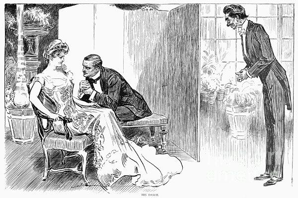 Gibson: Gibson Girl, 1903 Print by Granger