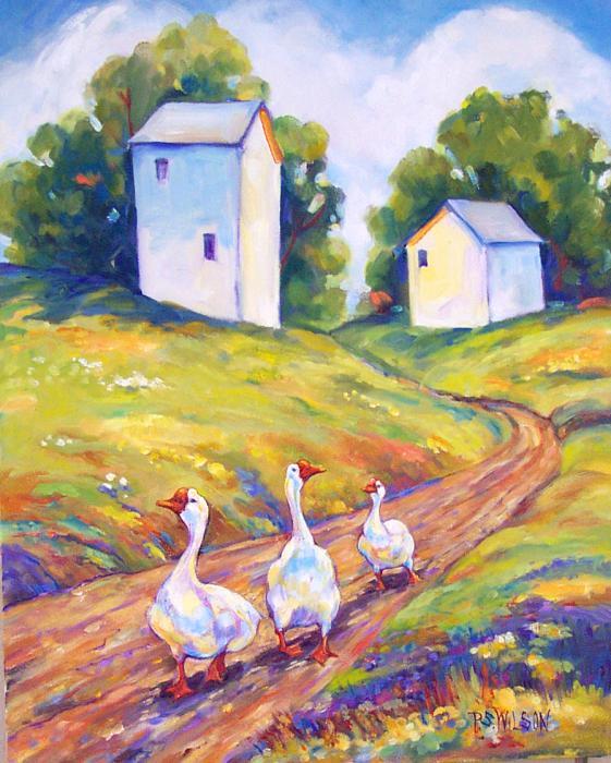 Peggy Wilson - Goose Walk