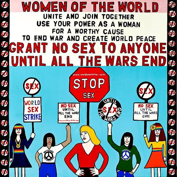 Grant No Sex Painting - Grant No Sex Fine Art Print - MaryAnn Kikerpill