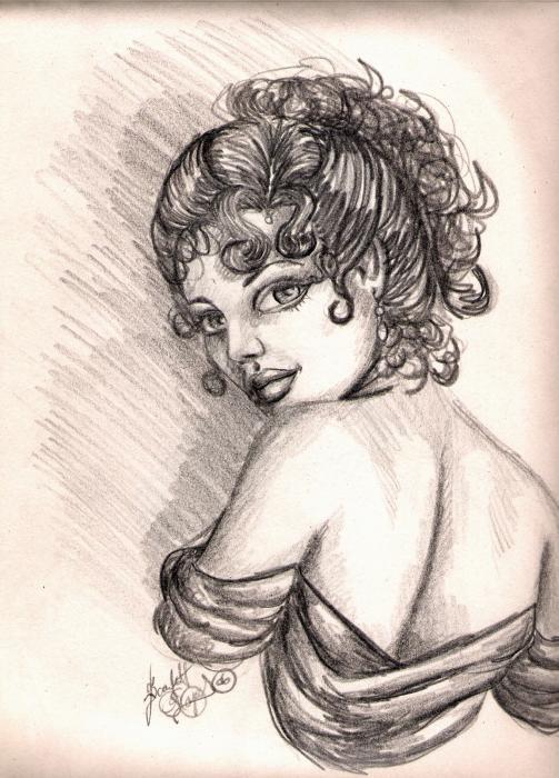 Greek Goddess Print by Scarlett Royal