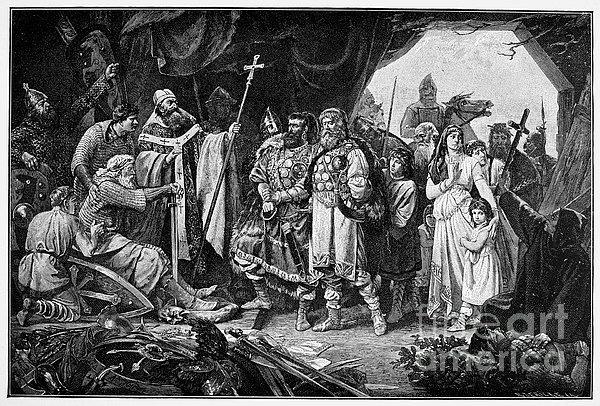 Henry I (876-936) Print by Granger