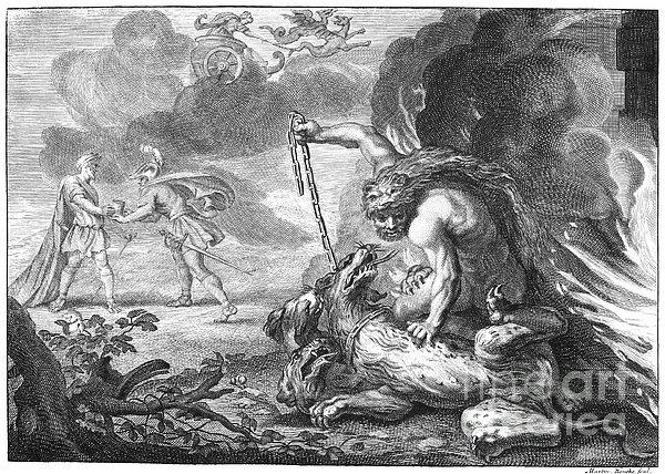 Hercules Print by Granger